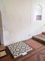 Artwork by Martin Crampin at Llanwnda church, Pembrokeshire