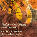 Cover of Curious Travellers book, image by Alison Lochhead.